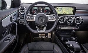 Mercedes-Benz Models at TrueDelta: 2020 Mercedes-Benz CLA interior