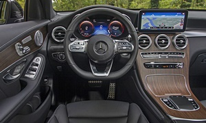 Mercedes-Benz Models at TrueDelta: 2020 Mercedes-Benz GLC Coupe interior