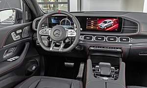 Mercedes-Benz Models at TrueDelta: 2020 Mercedes-Benz GLE interior