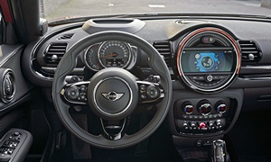 Mini Models at TrueDelta: 2021 Mini Clubman interior