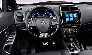 SUV Models at TrueDelta: 2020 Mitsubishi Outlander Sport interior