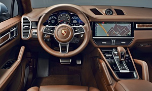 SUV Models at TrueDelta: 2020 Porsche Cayenne Coupe interior