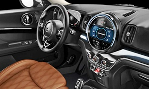 Mini Models at TrueDelta: 2021 Mini Countryman interior