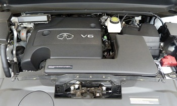 Infiniti JX Photos: Infiniti JX engine