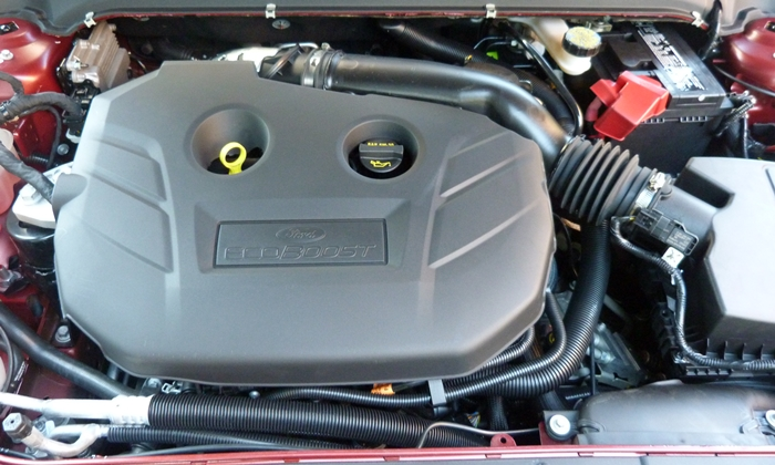 Fusion Reviews: 2013 Ford Fusion 2.0T engine