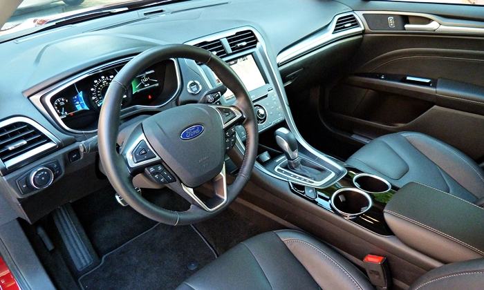 Fusion Reviews: 2013 Ford Fusion Titanium Interior