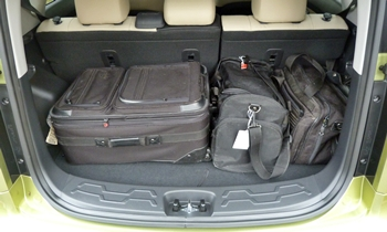 Kia Soul Photos: Kia Soul cargo area