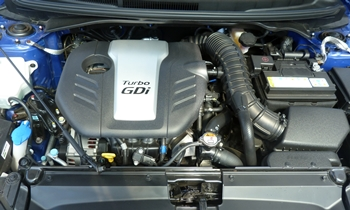 Veloster Reviews: Hyundai Veloster Turbo engine