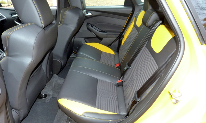 Focus Reviews: Ford Focus ST rear seat
