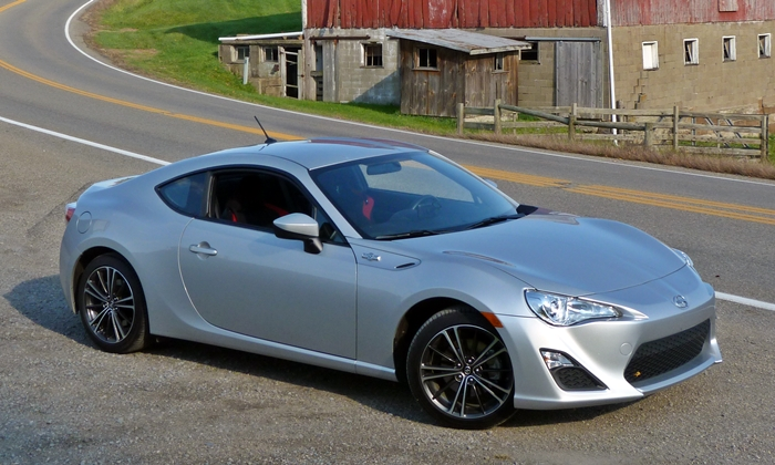 Scion FR-S front quarter view