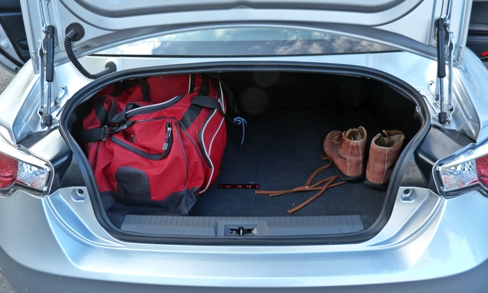 FR-S Reviews: Scion FR-S trunk