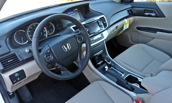 Honda Accord Photos: Honda Accord EX-L interior