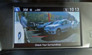 Honda Accord Photos: Honda Accord blind spot camera