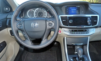 Honda Accord Photos: Honda Accord EX-L instrument panel