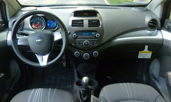 Spark Reviews: Chevrolet Spark instrument panel