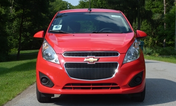Spark Reviews: Chevrolet Spark front view