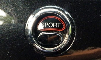 Fiat 500 Photos: FIAT 500 Abarth sport button