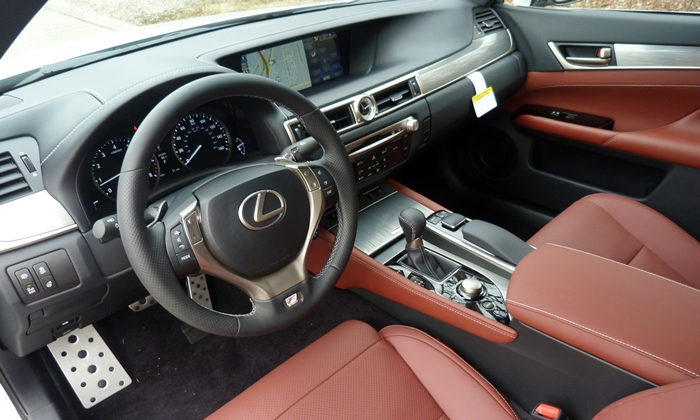 Lexus Is F Sport Red Interior