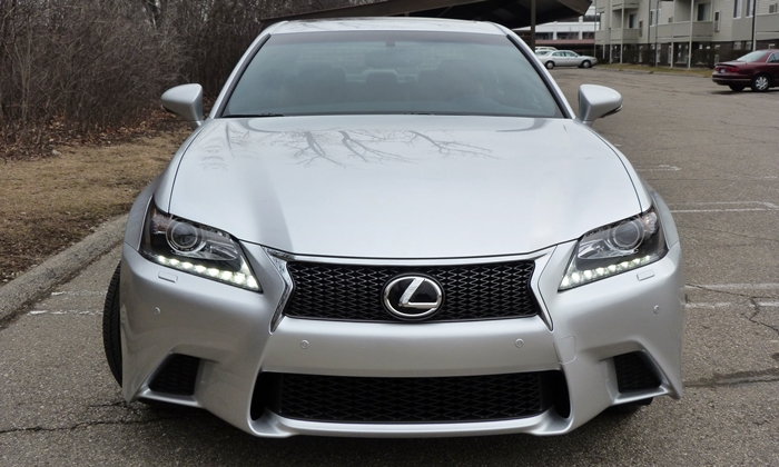 GS Reviews: Lexus GS 350 F Sport spindle grille