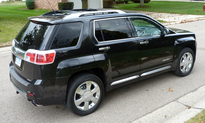 GMC Terrain Photos: GMC Terrain Denali high rear quarter view