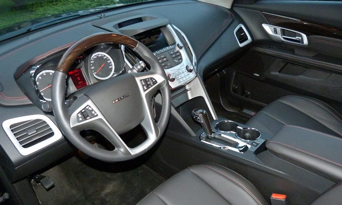 GMC Terrain Photos: GMC Terrain Denali interior