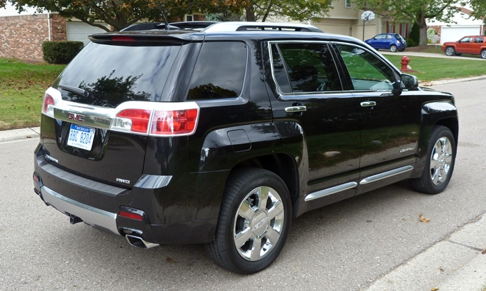 GMC Terrain Photos: GMC Terrain Denali rear quarter view
