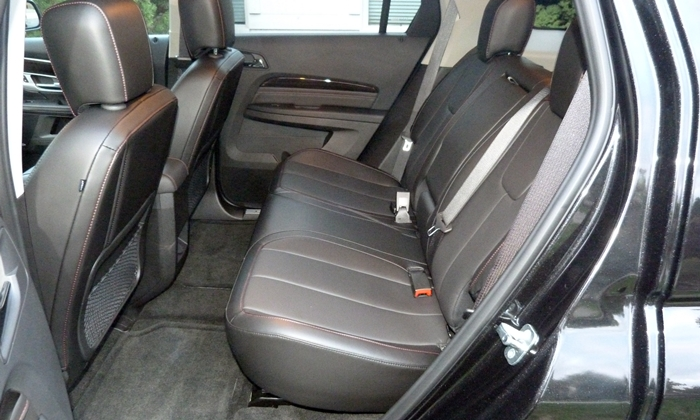 GMC Terrain Photos: GMC Terrain Denali rear seat