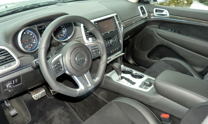 Grand Cherokee Reviews: 2013 Jeep Grand Cherokee SRT8 Interior