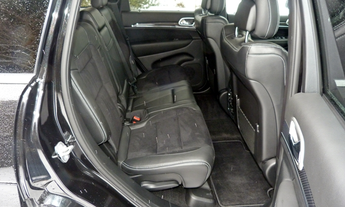 Grand Cherokee Reviews: 2013 Jeep Grand Cherokee SRT8 rear seat