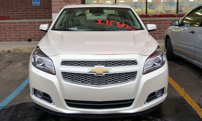 Chevrolet Malibu Photos: Chevrolet Malibu LTZ front view