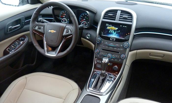 Chevrolet Malibu Photos Chevrolet Malibu Ltz Interior