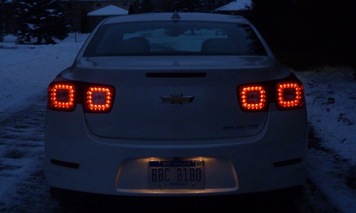 Chevrolet Malibu Photos: Chevrolet Malibu LTZ tail lights