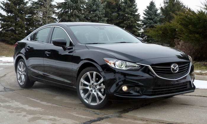 2014 Mazda6 Grand Touring front quarter view