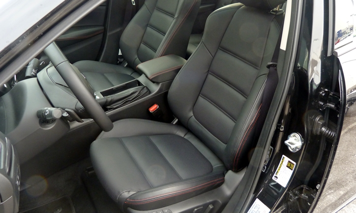 Mazda Mazda6 Photos: 2014 Mazda6 Grand Touring front seats