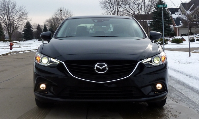 Mazda6 Reviews: 2014 Mazda6 Grand Touring front view