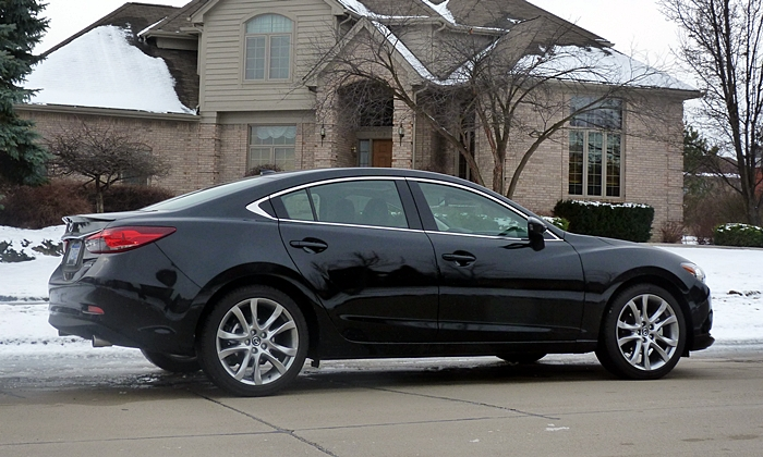 Superior Mazda6 Reviews: 2014 Mazda6 Grand Touring Rear Quarter View