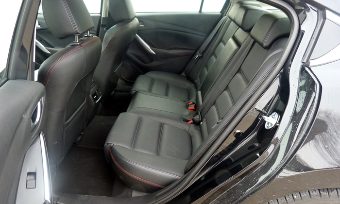 Mazda6 Reviews: 2014 Mazda6 Grand Touring rear seat