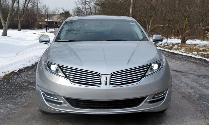 MKZ Reviews: 2013 Lincoln MKZ front view