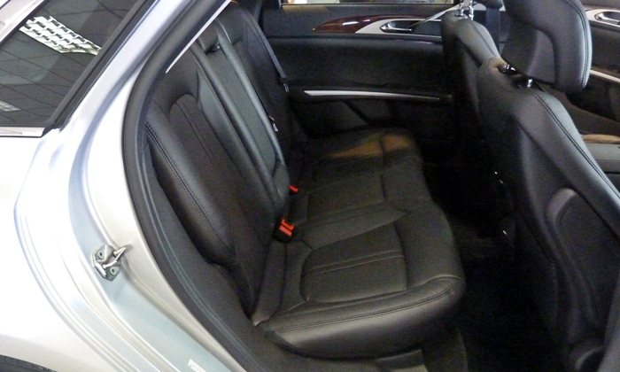 MKZ Reviews: 2013 Lincoln MKZ rear seat