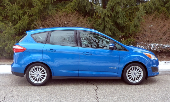 Ford C-MAX Photos: Ford C-MAX side view