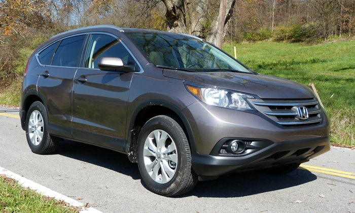 2013 Honda CR-V EX-L front quarter view