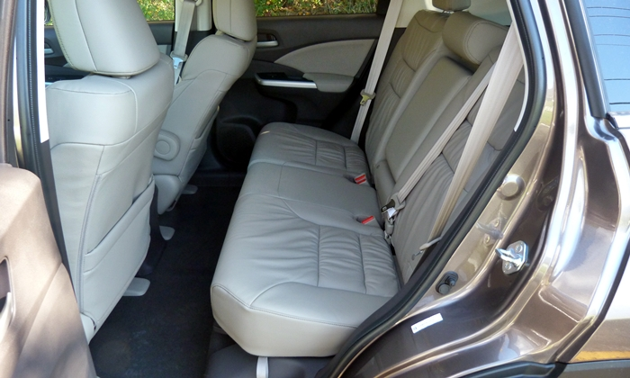 Honda Cr V Photos 2013 Honda Cr V Ex L Back Seat