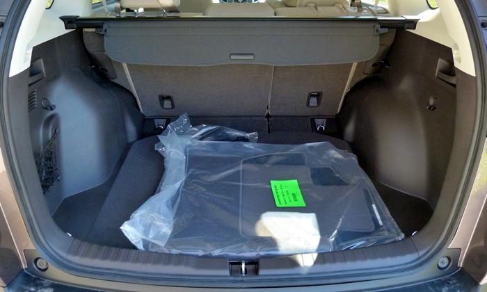 Honda CR-V Photos: 2013 Honda CR-V cargo area