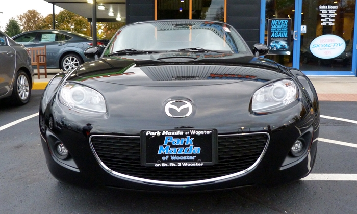Mazda MX-5 Miata Photos: 2012 Mazda MX-5 Miata Touring front