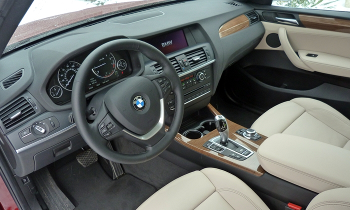 BMW X3 Photos: 2013 BMW X3 interior