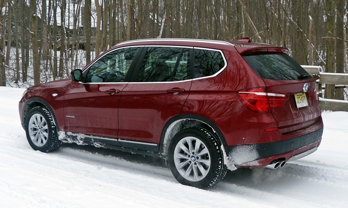 BMW X3 Photos: 2013 BMW X3 xDrive28i rear quarter