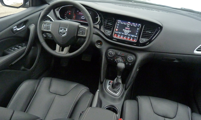 Dodge Dart Photos: 2013 Dodge Dart Limited instrument panel