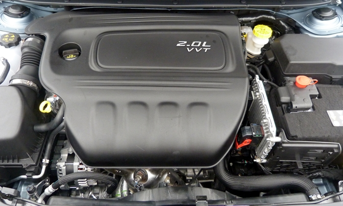 Dodge Dart Photos: 2013 Dodge Dart 2.0-liter engine