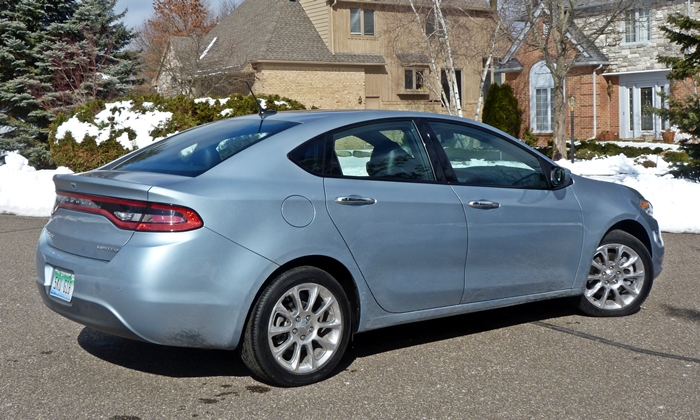 Dodge Dart Photos: 2013 Dodge Dart Limited rear quarter view