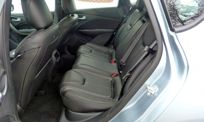 Dodge Dart Photos: 2013 Dodge Dart Limited back seat